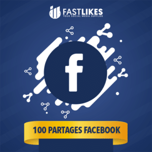 100 PARTAGES FACEBOOK