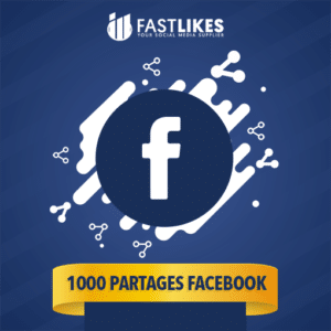 1000 PARTAGES FACEBOOK
