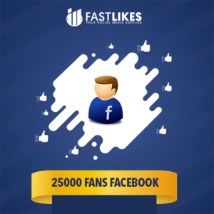 25000 FANS FACEBOOK