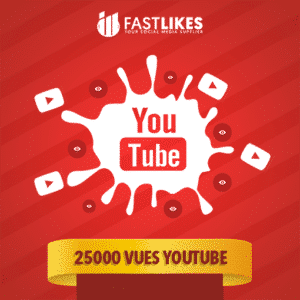 25000 VUES YOUTUBE