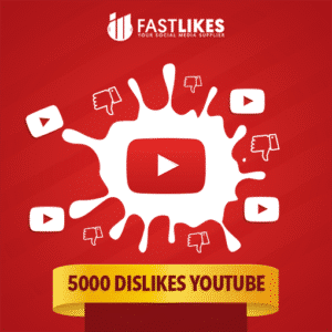 5000 DISLIKES YOUTUBE