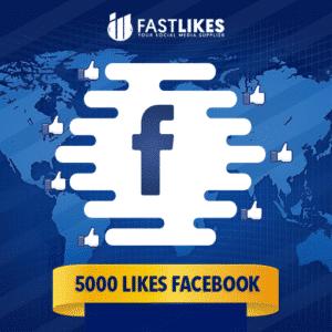 5000 LIKES FACEBOOK