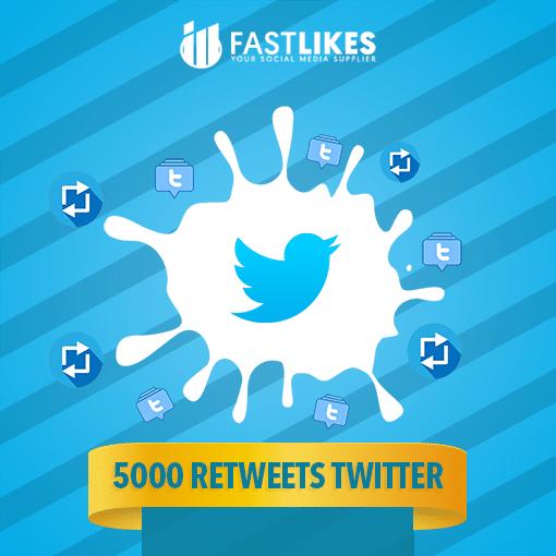 5000 RETWEETS TWITTER