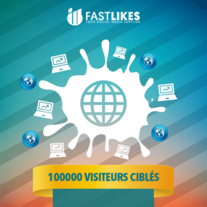100000 VISITEURS CIBLES