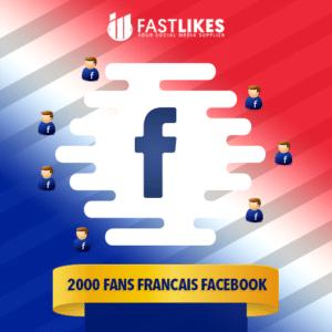 2000 FANS FRANCAIS FACEBOOK