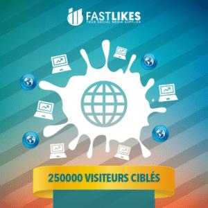 250000 VISITEURS CIBLES