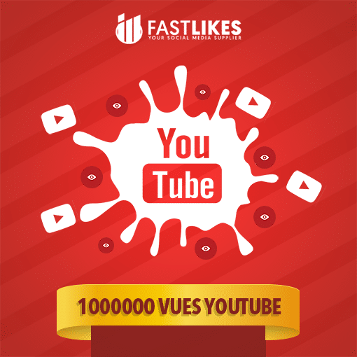 1000000 VUES YOUTUBE