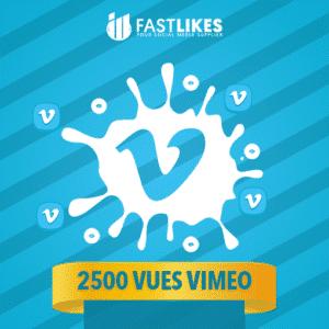2500 VUES VIMEO
