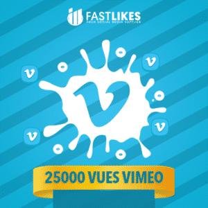 25000 VUES VIMEO
