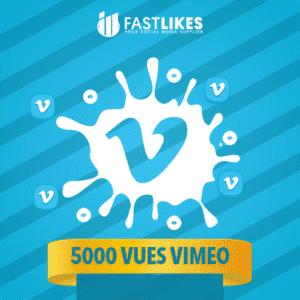 5000 VUES VIMEO