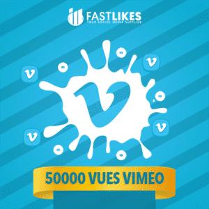 50000 VUES VIMEO