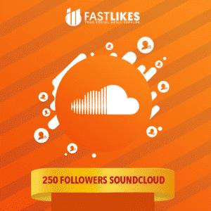 250 FOLLOWERS SOUNDCLOUD