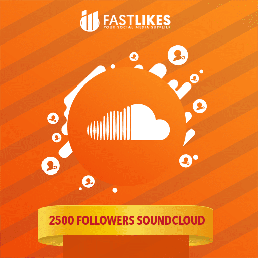 2500 FOLLOWERS SOUNDCLOUD