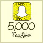 5000_snapchat_followers
