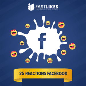 25 reactions facebook