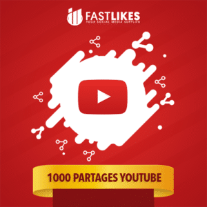 1000 PARTAGES YOUTUBE