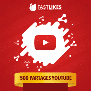 500 PARTAGES YOUTUBE