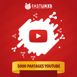 5000 PARTAGES YOUTUBE