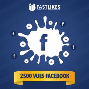 2500 VUES FACEBOOK