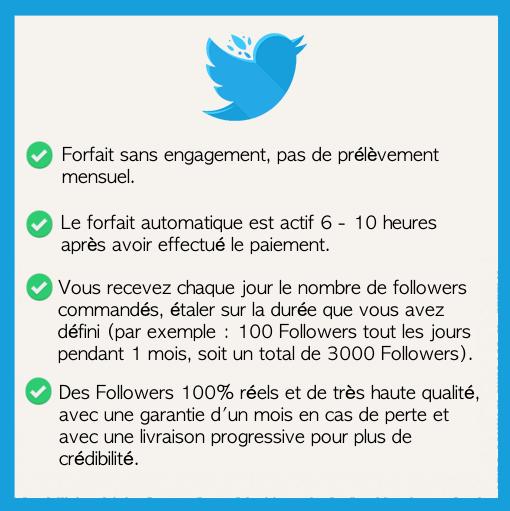 acheter des followers automatique twitter