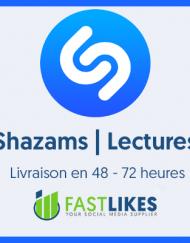 Acheter des plays shazam