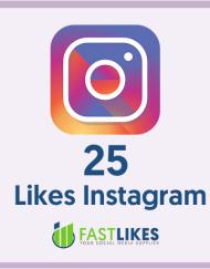 25 likes instagram