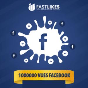 1000000 VUES FACEBOOK
