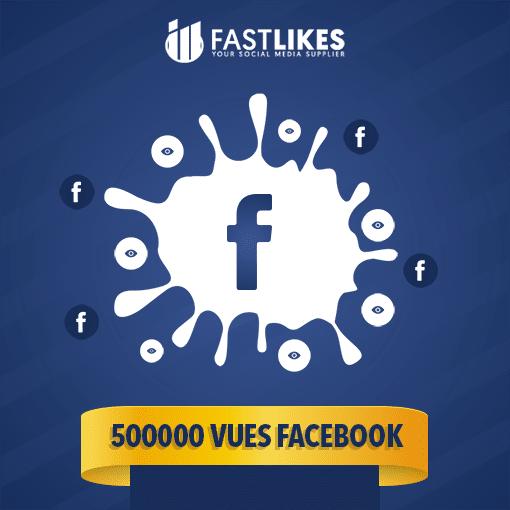 500000 VUES FACEBOOK