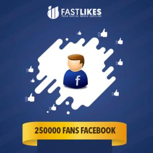 250000 FANS FACEBOOK