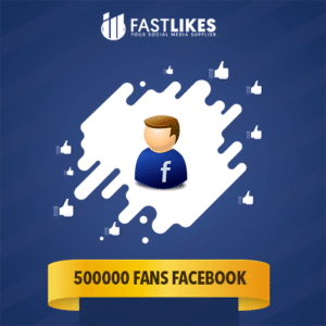 500000 FANS FACEBOOK
