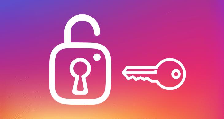 sécurisé compte instagral